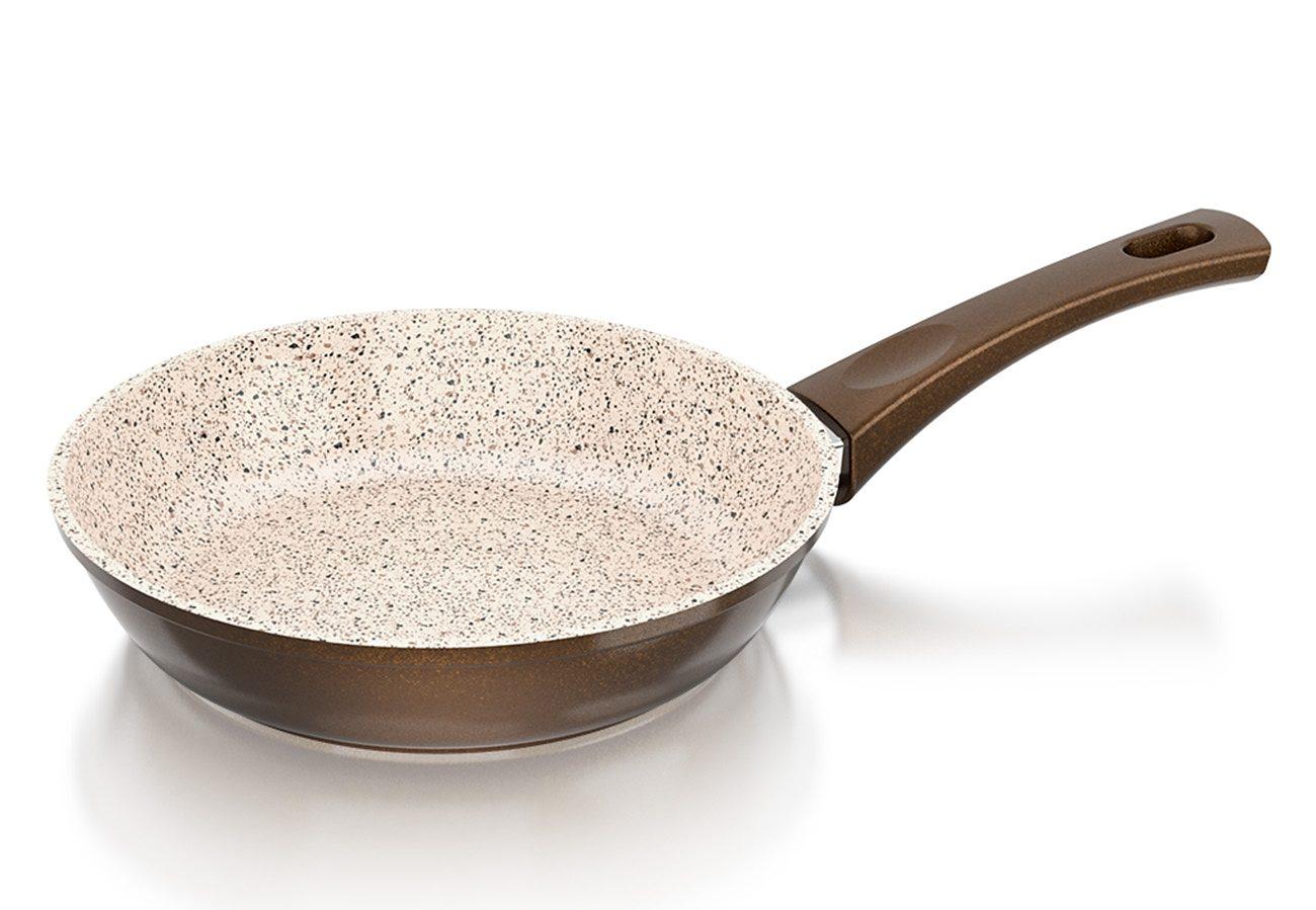 Genius® Cerafit®Granit-Grand-Edition Bratpfanne Keramikbeschichtung, Ø 20 cm