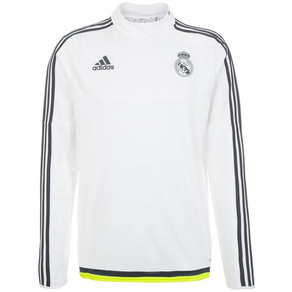 adidas Performance Real Madrid Trainingssweat Herren in weiß / dunkelgrau
