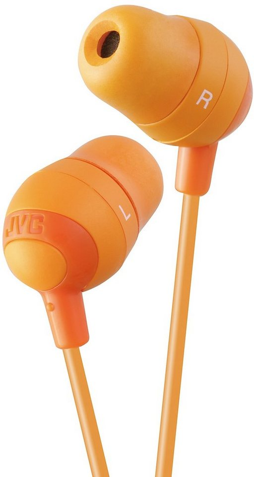 "JVC In Ear Kopfhörer »HA-FX32 ""Marshmallow""« in orange"
