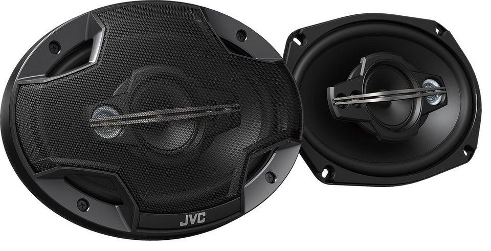 JVC 2-Wege 10 cm Einbaulautsprecher »CS-HX6959« in schwarz