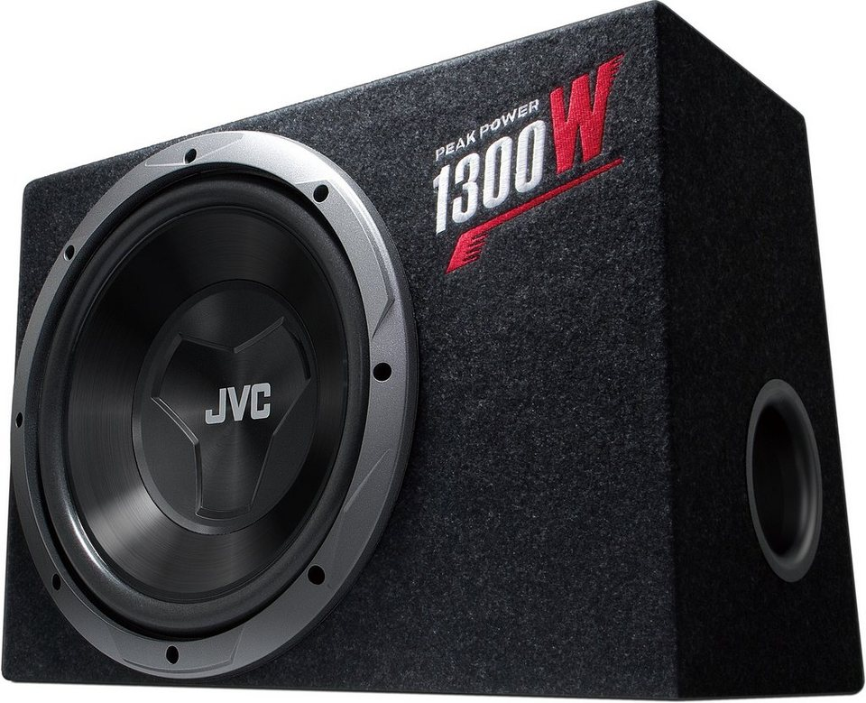 JVC Subwoofer Bassbox »CS-BW120« in schwarz