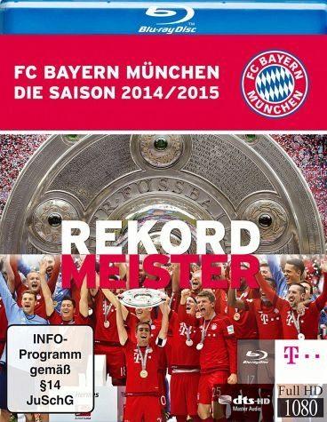 Blu-ray »FC Bayern München - Die Saison 2014/2015:...«