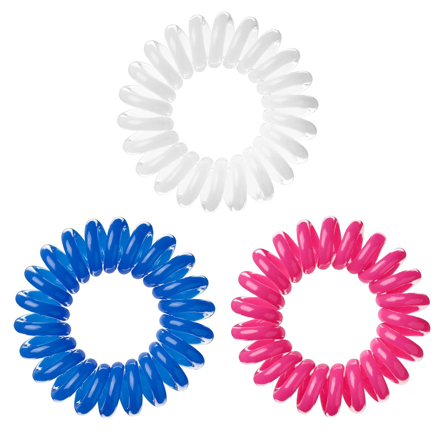 Invisibobble, Spiral-Haargummi (9-tlg. Set)