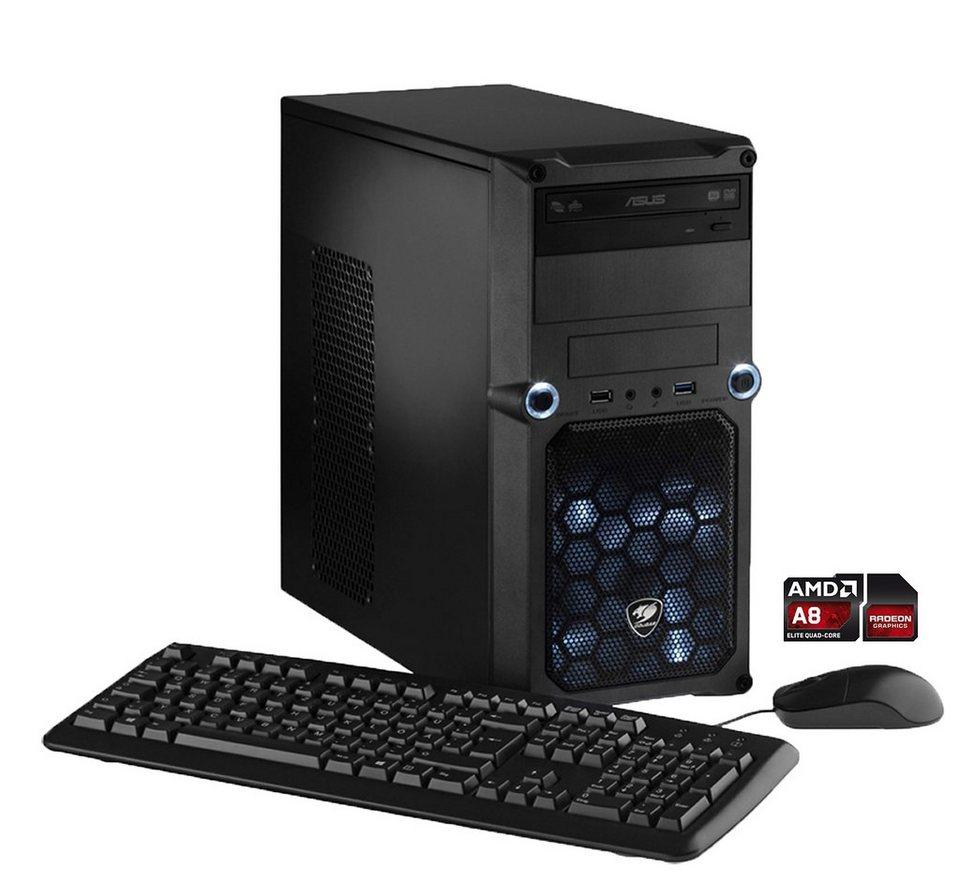 Hyrican Gaming PC AMD A8-7650K , 8GB, 1TB, Windows 10 »CyberGamer 4775«