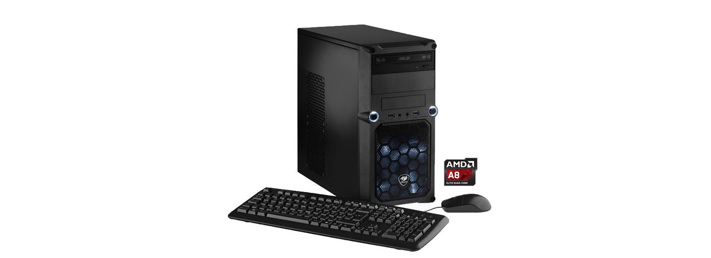 Hyrican Gaming PC AMD A8-7650K , 8GB, 1TB, R7 240 2GB, Windows 10 »CyberGamer 4776«
