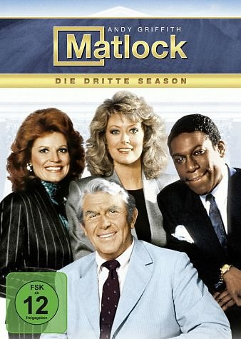 DVD »Matlock - Die dritte Season (5 Discs)«