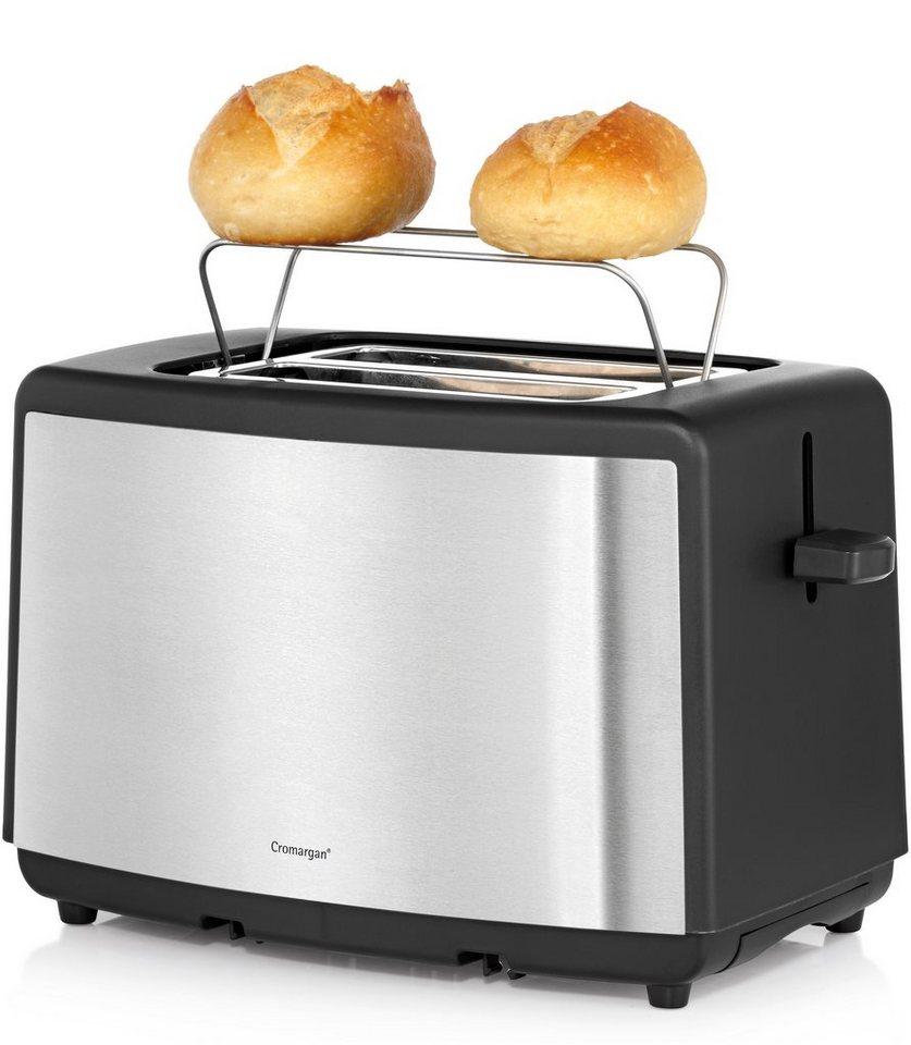 WMF BUENO Toaster »Edition«, für 2 Scheiben, 800 Watt, Cromargan® matt in Cromargan® matt