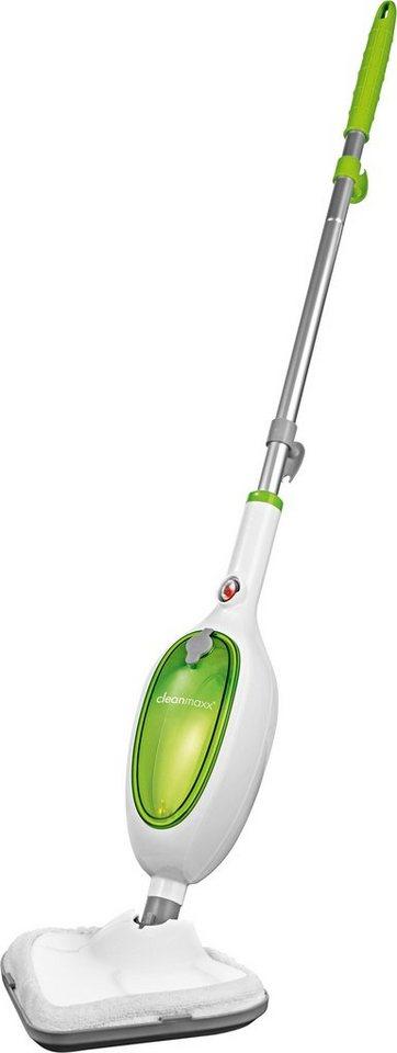 Clean Maxx Dampfbesen Kompakt, weiß-limegreen in weiß-grün
