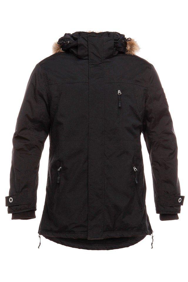 B.R.D.S. Workwear Parka »Workwear« in schwarz