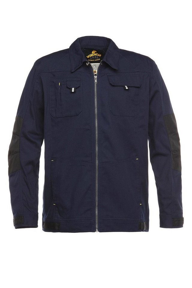 Arbeitsjacke »Workwear« in grau/dunkelblau