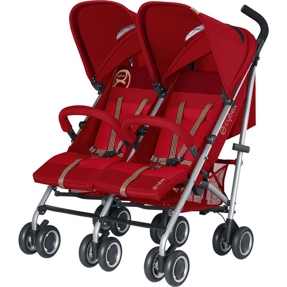 Cybex Zwillingsbuggy Twinyx, Hot & Spicy, 2015 in rot