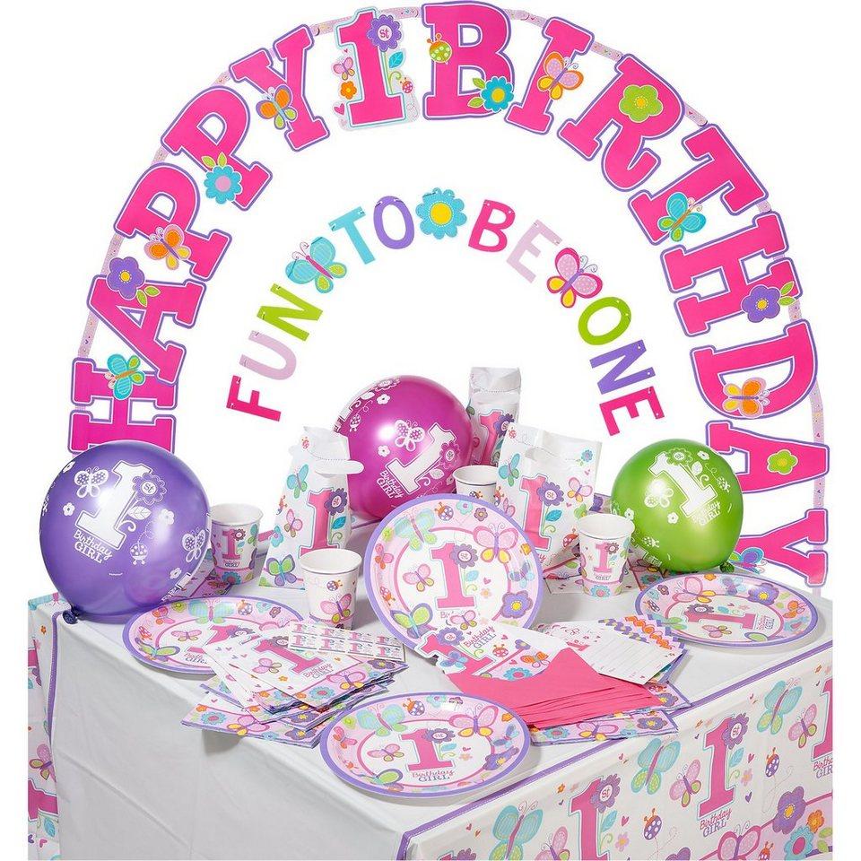 Amscan Partyset Sweet Birthday, 56-tlg.