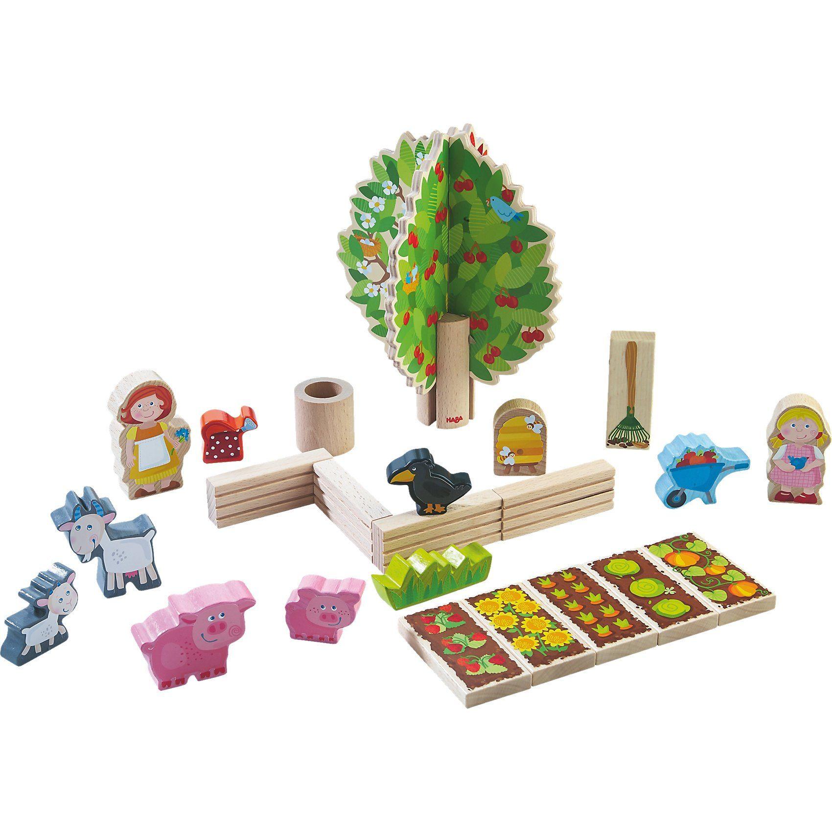 Haba Spielwelt Pias Bauerngarten
