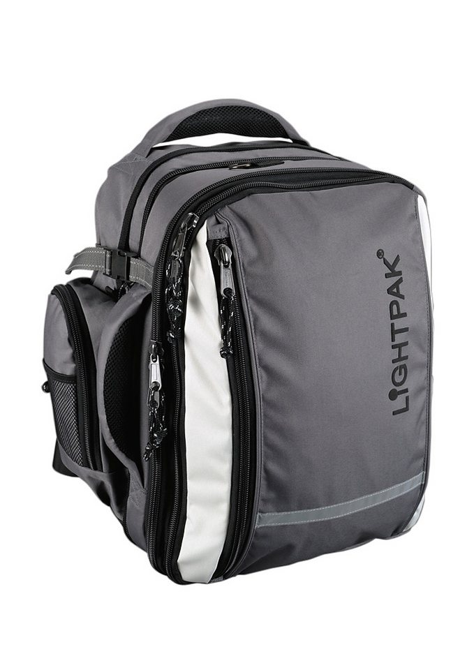 LIGHTPAK® Laptoprucksack, »Vantage« in grau