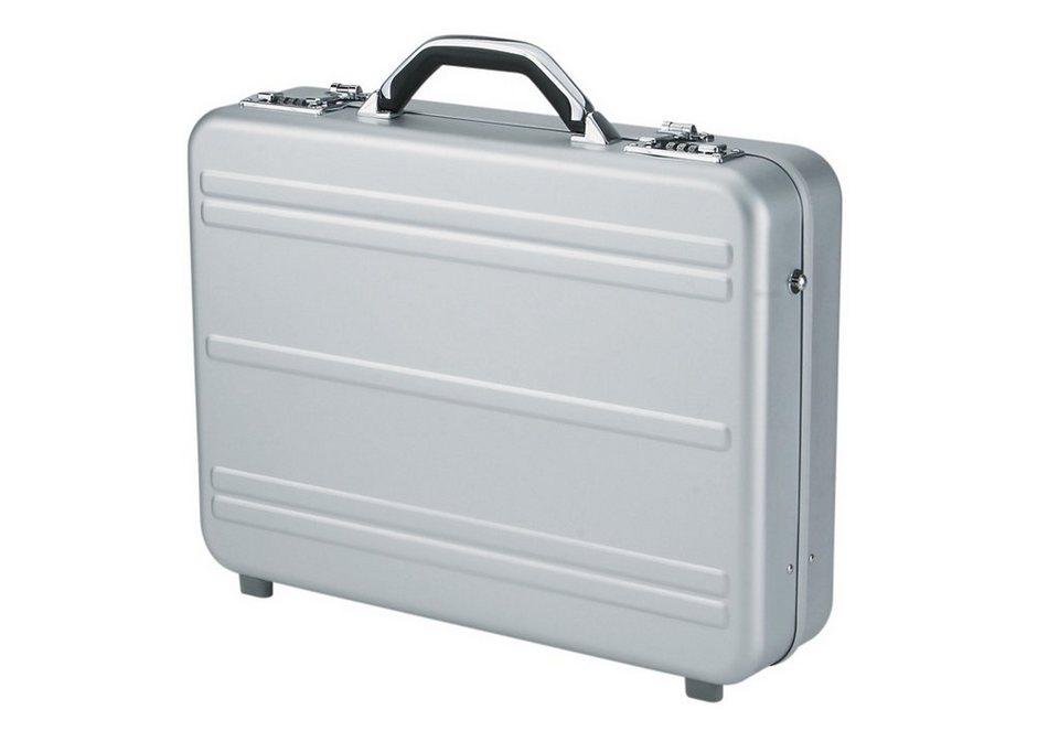 Alumaxx® Laptopkoffer aus Aluminium, »Mercato« in silberfarben