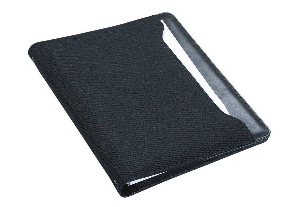 Alassio® Schreibmappe A4, »Como« in schwarz