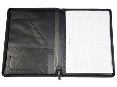 A4 Schreibmappe »vallo« Aus Leder Alassio® 607xtwq46
