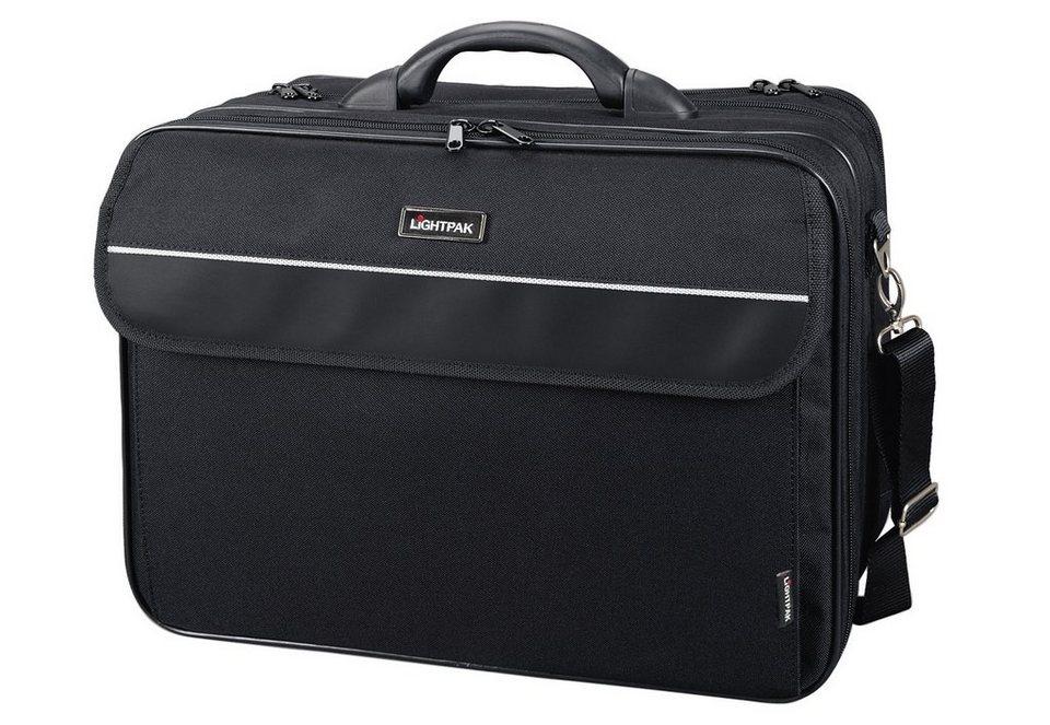 LIGHTPAK® Multifunktionstasche, »Corniche« in schwarz