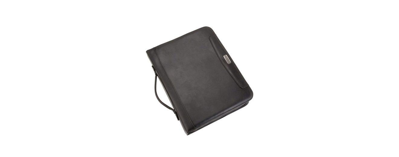 Alassio® Ringbuchmappe mit Taschenrechner A4, »Porto«