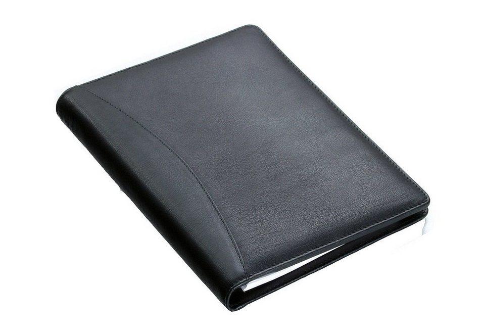 Alassio® Schreibmappe A5, »Bormio« in schwarz