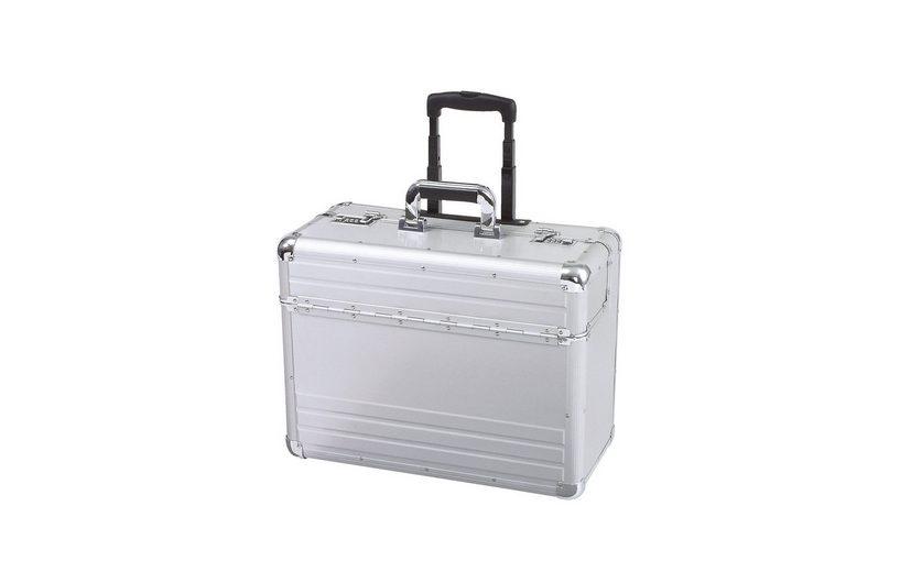 Alumaxx® Pilotenkoffer mit Teleskopgestänge, »Omega«