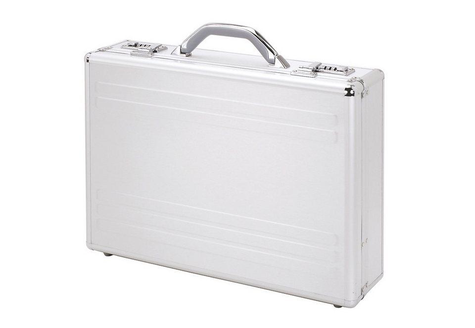Alumaxx® Laptopkoffer aus Aluminium, »Kronos« in silberfarben
