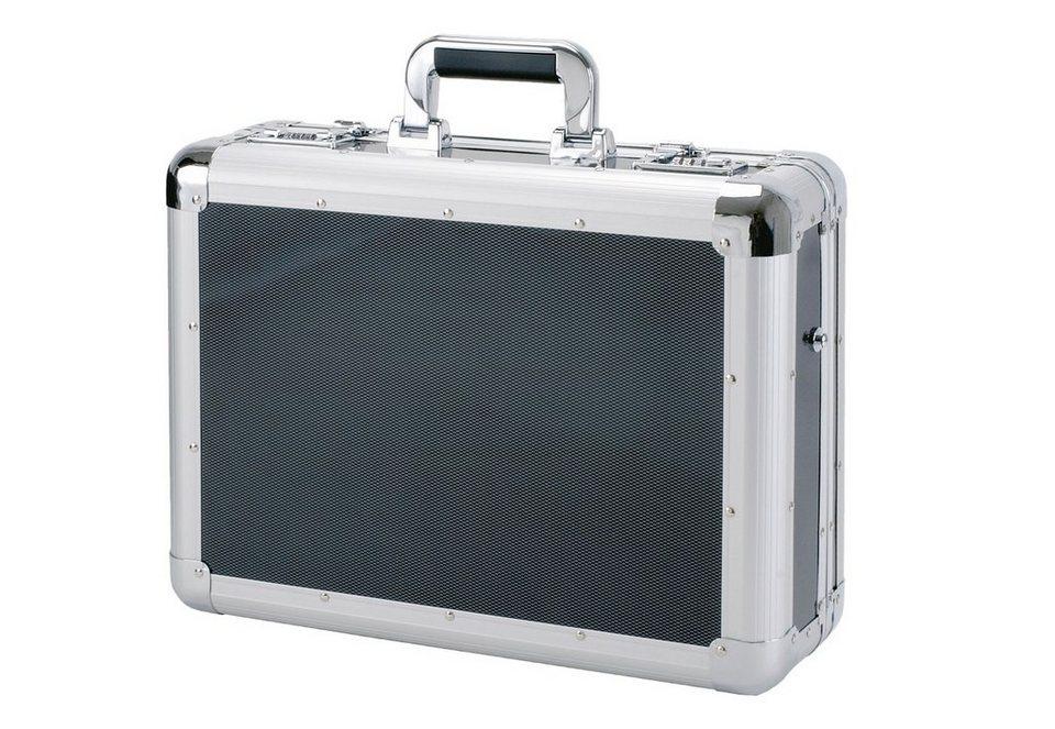 Alumaxx® Laptopkoffer aus Aluminium, »C-1« in schwarz
