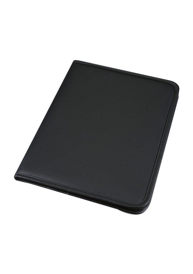 Alassio® Schreibmappe A4, »Savona« in schwarz