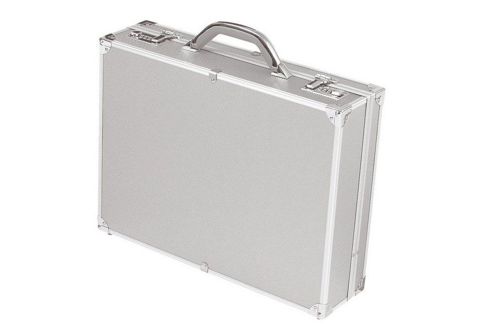 Alumaxx® Aktenkoffer aus Aluminium, »Octan, Attachékoffer« in silberfarben