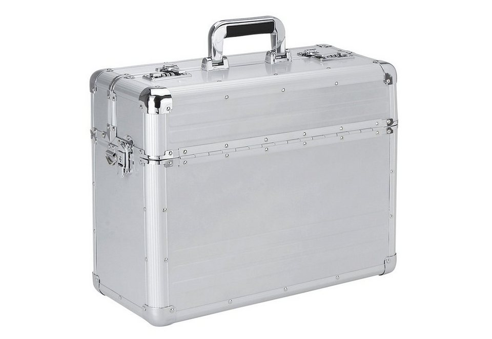 Alumaxx® Pilotenkoffer mit Laptopfach, »Betha« in silberfarben