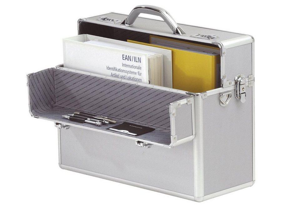 Alumaxx® Pilotenkoffer aus Aluminium, »Alpha, silber« in silberfarben