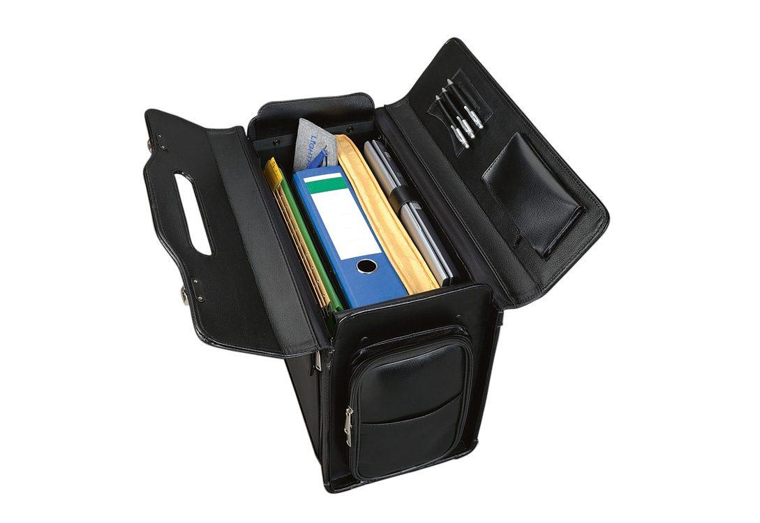 Online Alassio® Mit Leder Aus Kaufen Laptopfach»verona« Pilotenkoffer qSMpLUzVG
