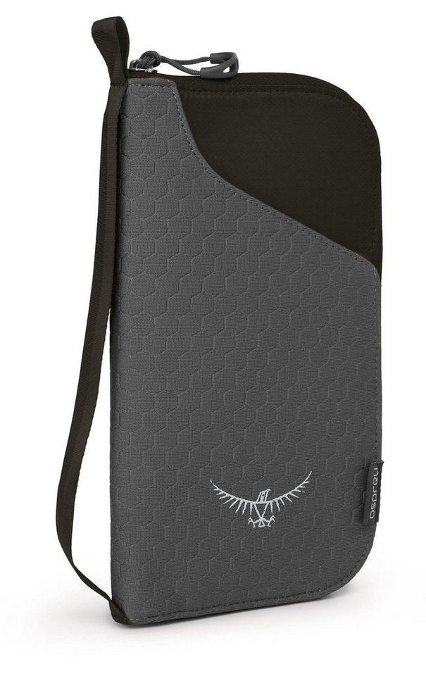 Osprey Wertsachenaufbewahrung »Document Zip Wallet black« in schwarz