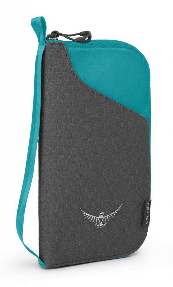 Osprey Wertsachenaufbewahrung »Document Zip Wallet« in grün