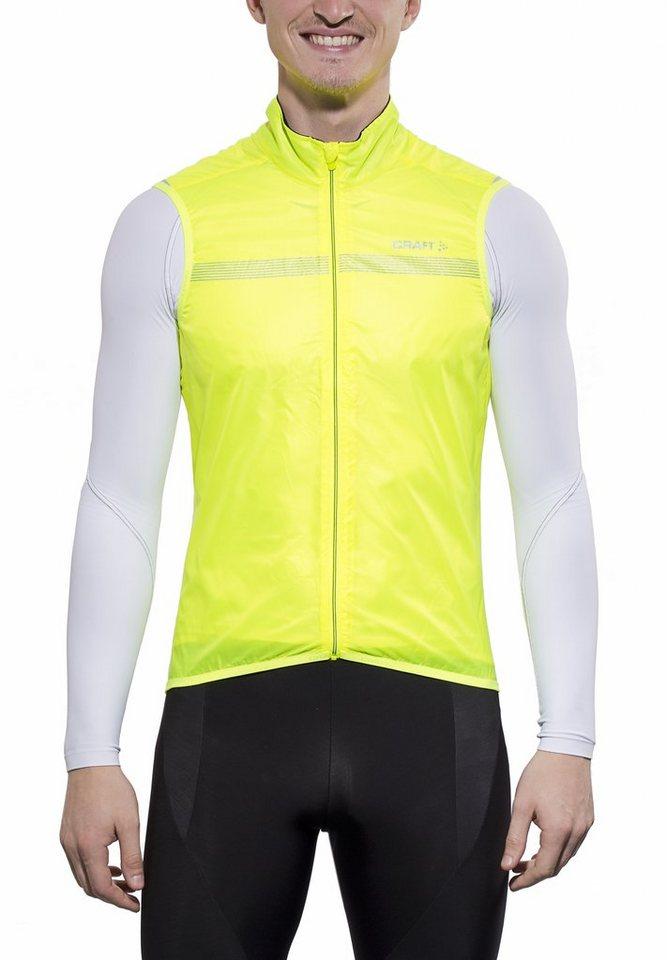 Craft Weste »Featherlight Vest Men« in gelb