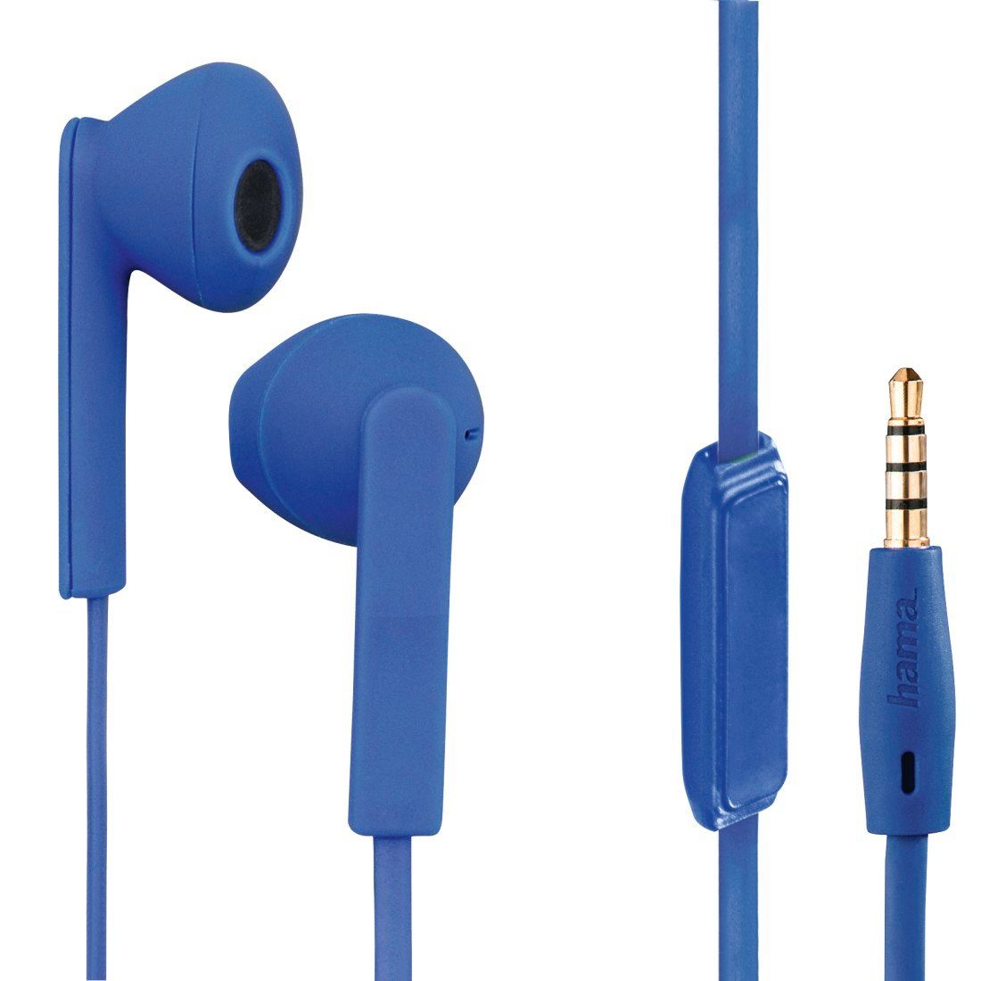 Hama Stereo-Ohrhörer Joy +, Blau