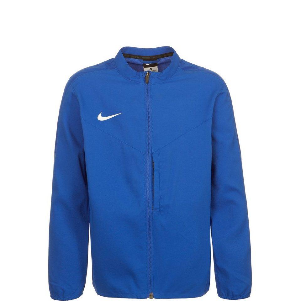 NIKE Team Performance Shield Trainingsjacke Kinder in blau / weiß
