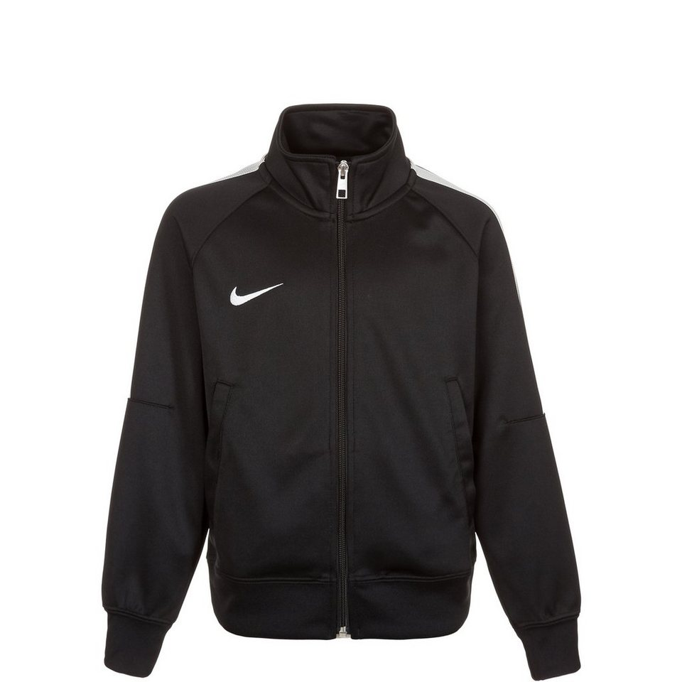 NIKE Team Club Trainingsjacke Kinder in schwarz / weiß