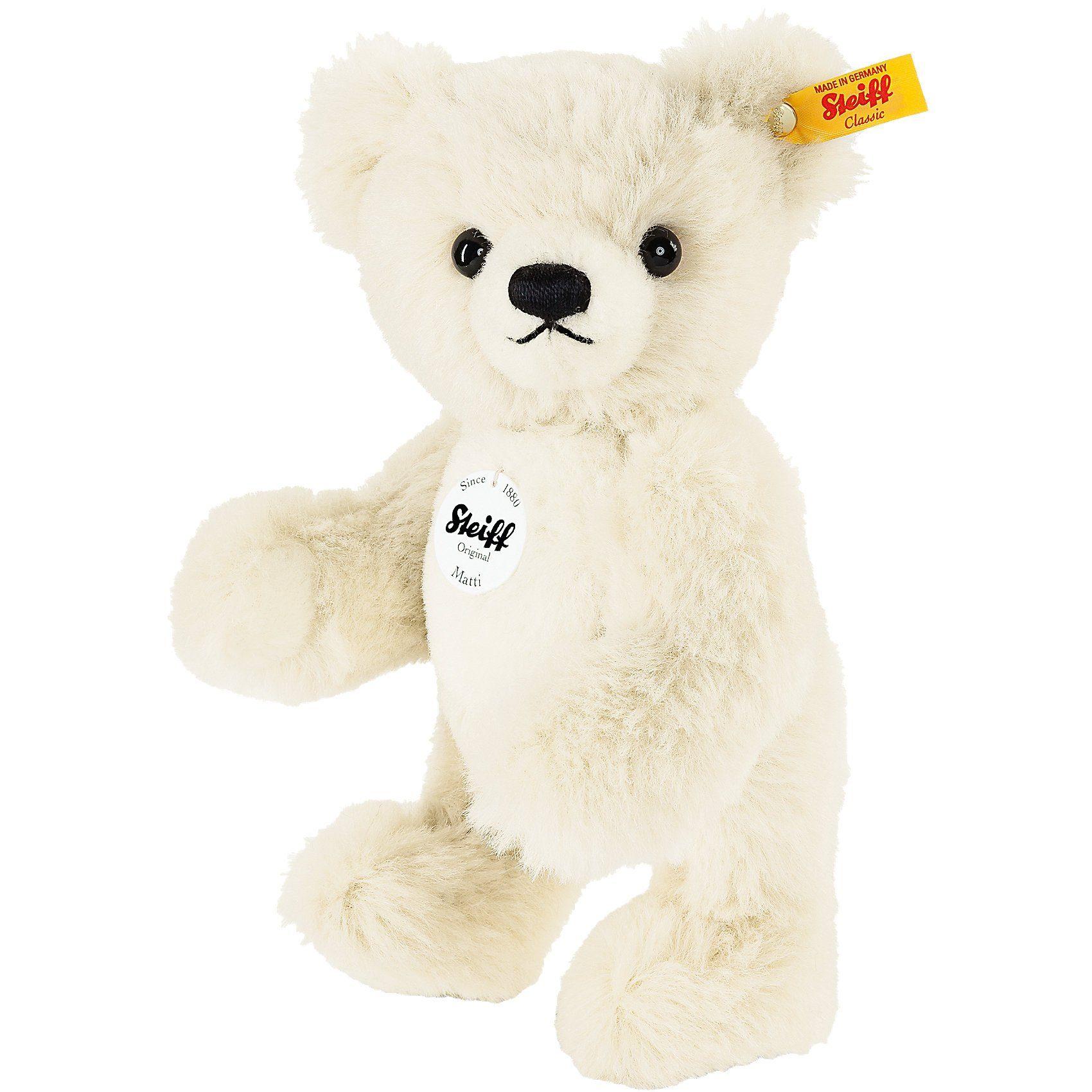 Steiff Teddybär Matti, 25 cm creme