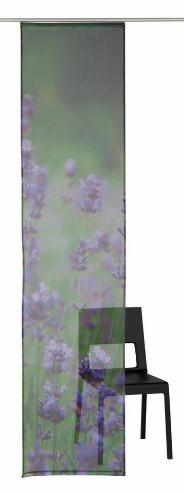 Schiebegardine, my home, »Meadow« (1 Stück mit Zubehör) in meadow