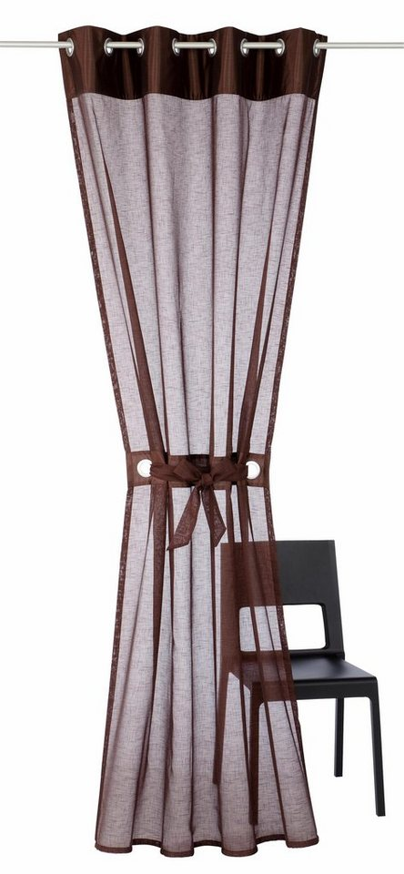 gardine my home willow mit sen 1 st ck otto. Black Bedroom Furniture Sets. Home Design Ideas