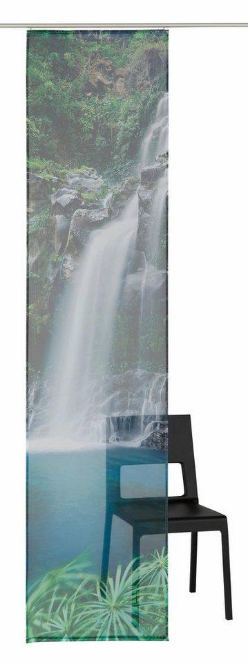 Schiebegardine, my home, »Waterfall« (1 Stück mit Zubehör) in waterfall