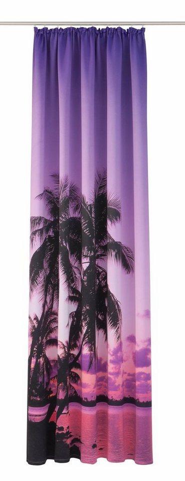 Vorhang, my home, »Sumba Palme« (1 Stück) in Palme