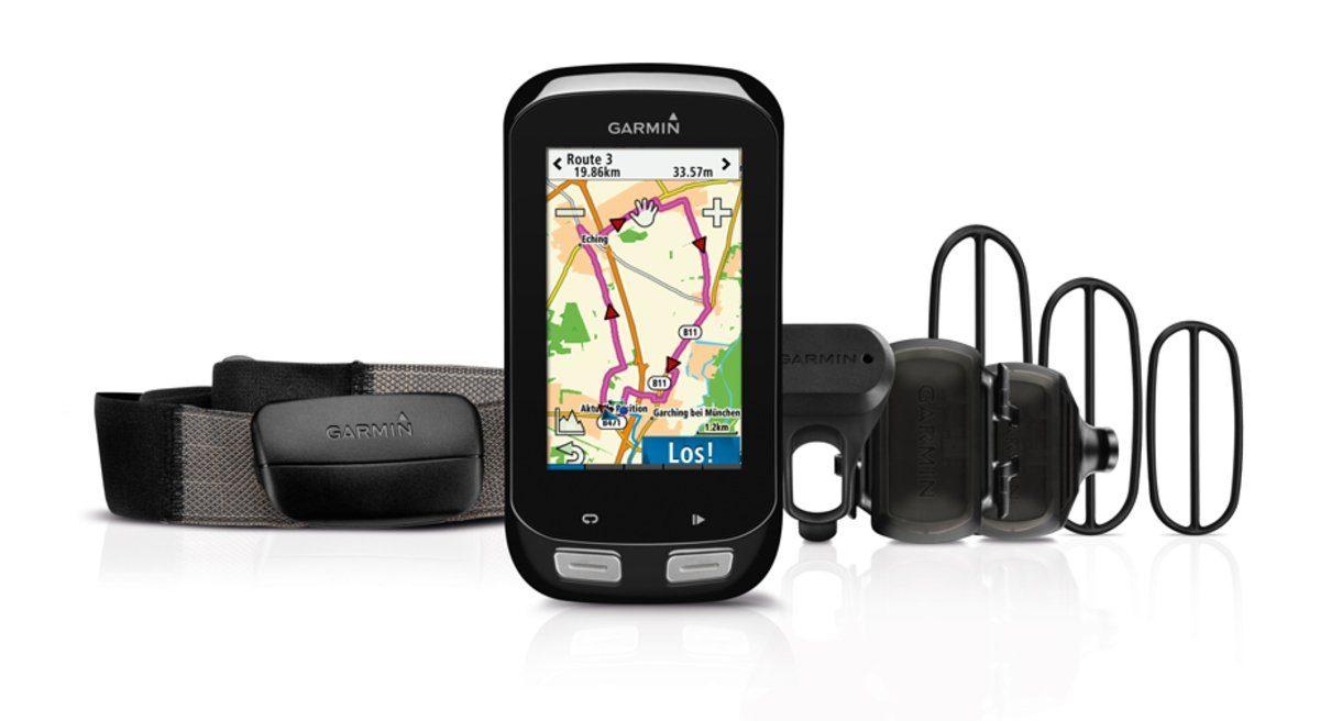 Garmin Fahrradnavigation »Edge 1000 inkl. Herzfrequenzgurt und Sensoren«
