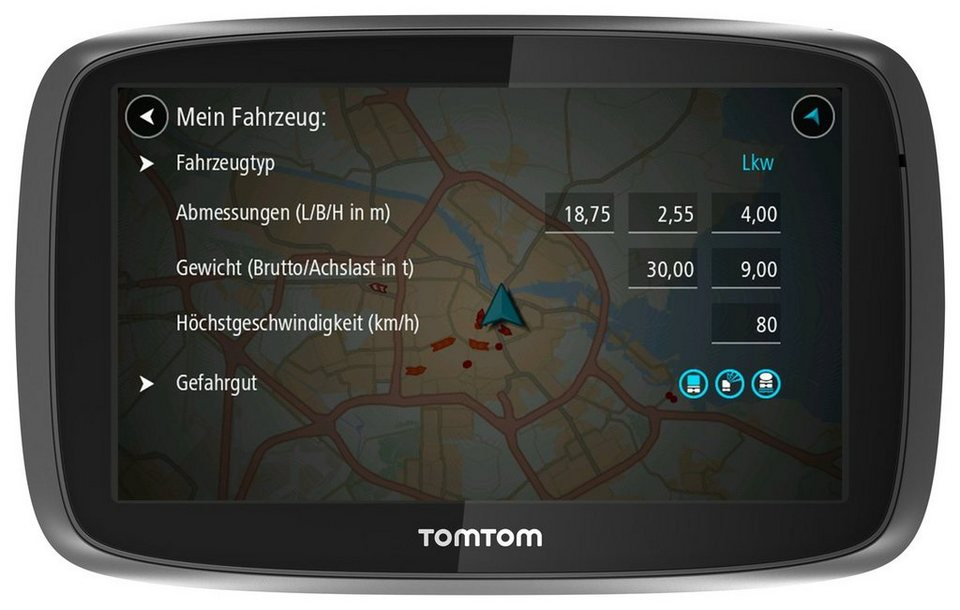 tomtom lkw navigationsger t trucker 6000 kaufen otto. Black Bedroom Furniture Sets. Home Design Ideas