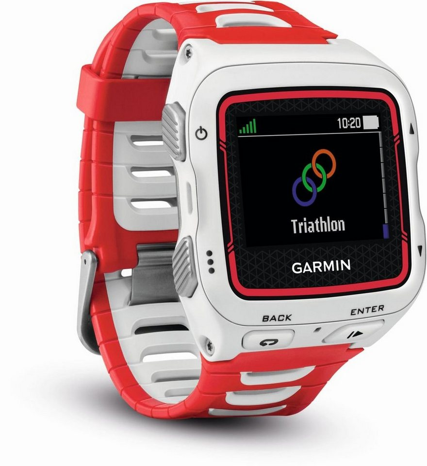 Garmin Sport-Uhr »Forerunner 920XT« in Weiß-Rot