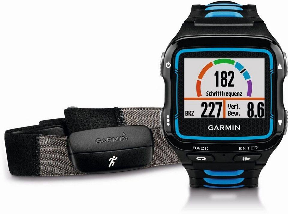 Garmin Sport-Uhr »Forerunner 920XT inkl. HR-Brustgurt« in Schwarz-Blau