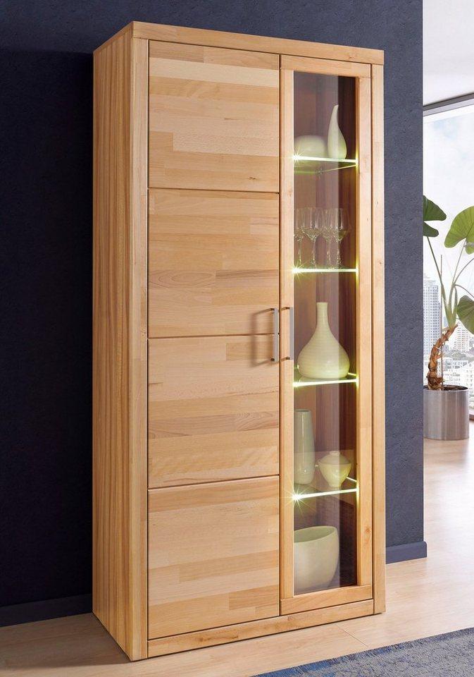 roomed vitrine online kaufen otto. Black Bedroom Furniture Sets. Home Design Ideas