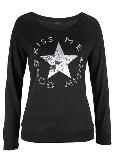 Buffalo Pyjama mit sportiver Hose & Shirt mit Sternprint