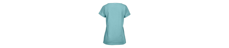 Rabatt 2018 Unisex Petite Fleur Basic Kurzarmshirt Paradise mit Brusttasche Billige Mode JsM9f5A